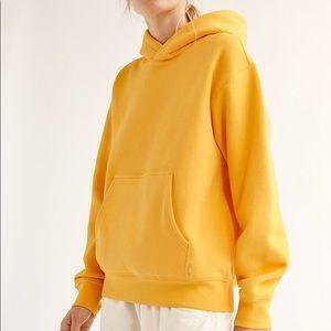 TNA yellow boyfriend hoodie
